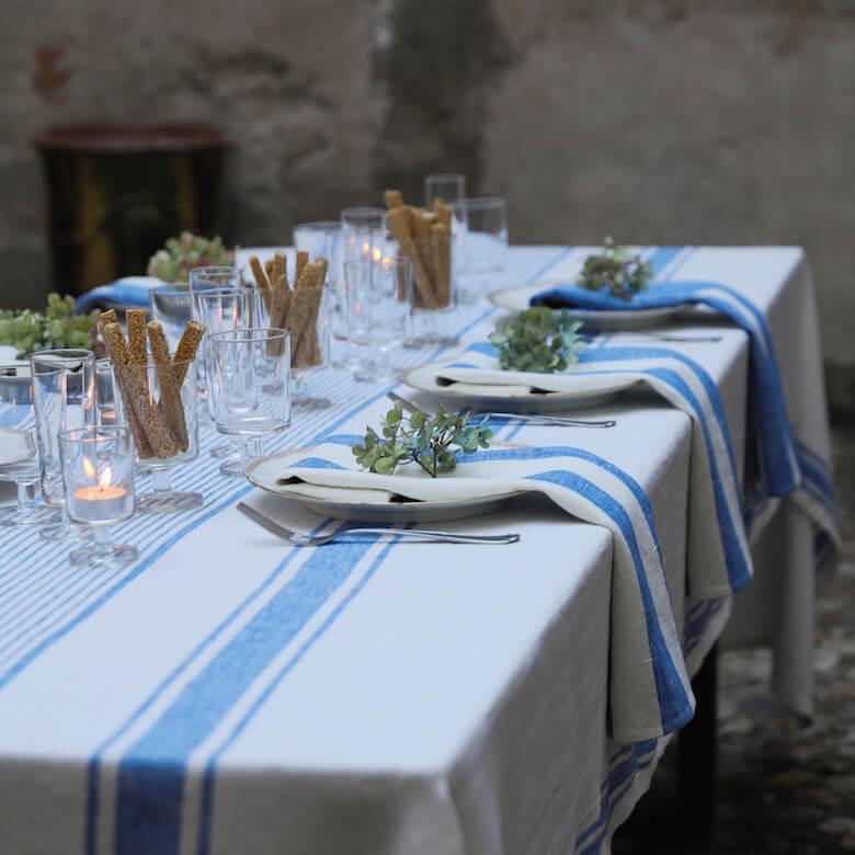 Tischwäsche leinen - Leinen oder Baumwolle
