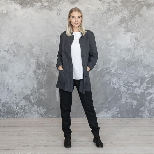 Leinen-Kleidungskollektion