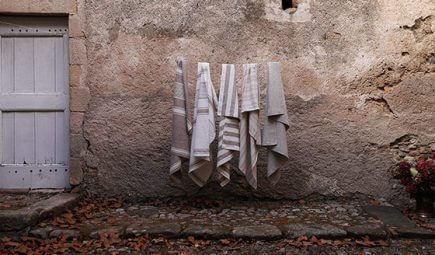 Ewige Schönheit von Leinen Badetüchern