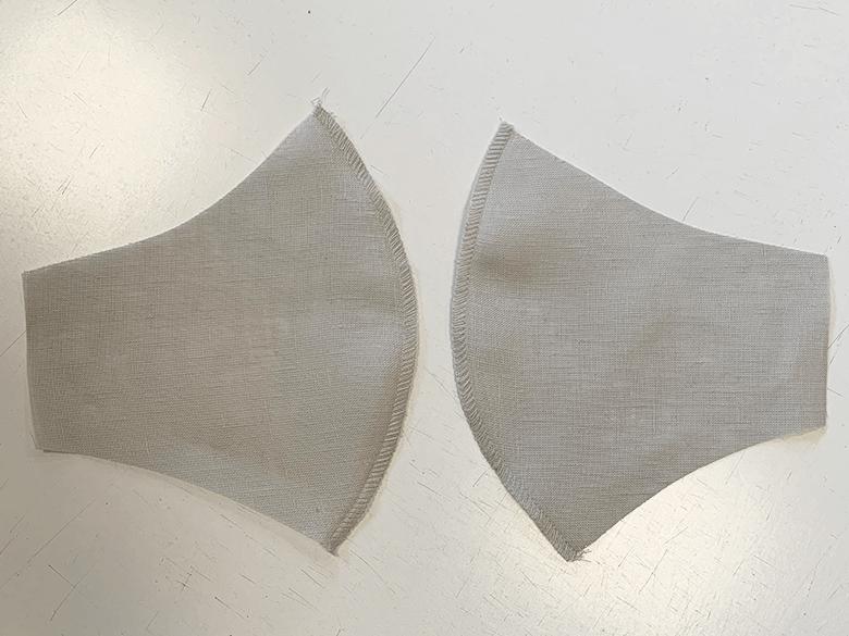 Wie man eine Leinen-Gesichtsmaske macht 3
