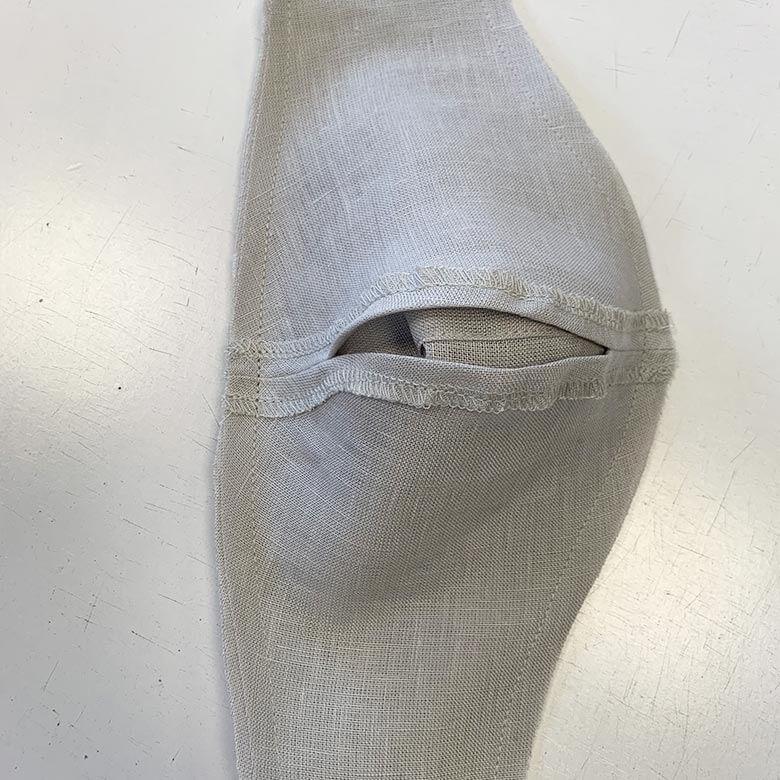 Wie man eine Leinen-Gesichtsmaske macht 8