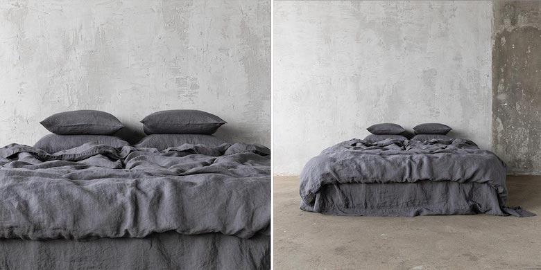 Linen-Bedding-Grey