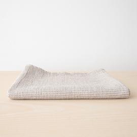 Natürliche Leinen Baumwolle Mix Badetuch Wafer