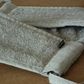 Rückenband Natur Leinen Frottee