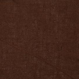 Brown Linen Fabric Sample Rustico