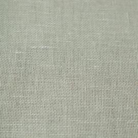 Leinen Stoff Milchweiss Twist Open