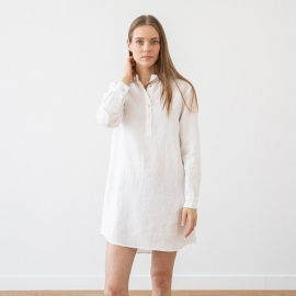 Nachthemd Indigo Leinen Alma