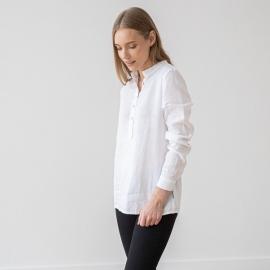 Weiß Leinen Hemd Toby