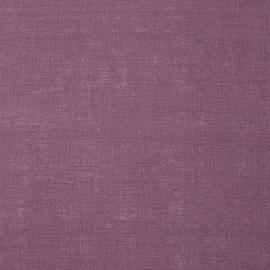 Fabric Mauve Linen Lucia