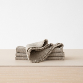 Serviette Leinen Rustic Natural