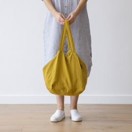 Strandtasche Zitrin Leinen Lara