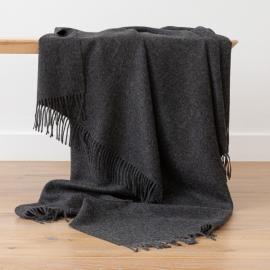 Holzkohle Baby Alpaka-Decke Bella