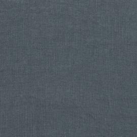 Leinenstoff Blue Stone Gewaschen