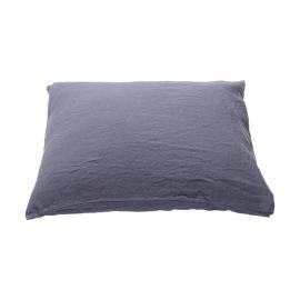 Vorgewaschener Blaubeere Leinen-kopfkissenbezug