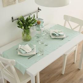 Tischläufer Leinen Terra Mint