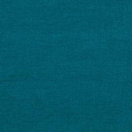 Marine Blau Leinen Stoff Stone Washed