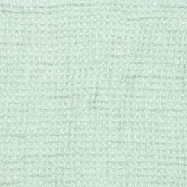 Citrine  Linen Waffle Fabric Washed