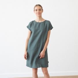 Weiß Leinen Kleid Alice