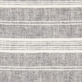 Fabric Prewashed Graphite Linen Francesca