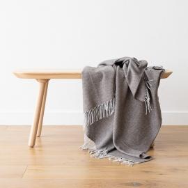 Beige Recycelt Decke Valeria