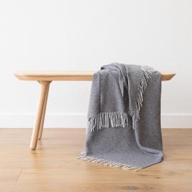 Grey Recycelt Decke Valeria