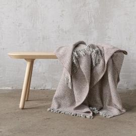 Choco Wolle Decke Bruno