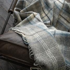 Grey Wolle Decke Donato