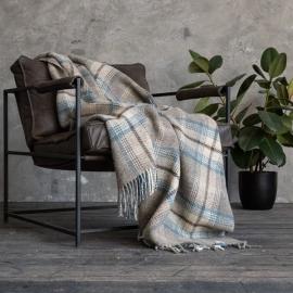 Brown Wolle Decke Donato