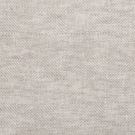 Natural Leinen Stoff Stone Washed Rhomb