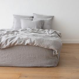 Gewaschene Bettwäsche Duvet Cool Grey