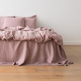 Gewaschene Bettwäsche Duvet Dusty Rose