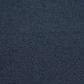Navy Leinen Stoff Upholstery