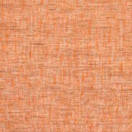 Stoff Orange Leinen Twist Open