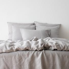 Gewaschene Bettwäsche Bettset Cool Grey