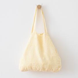 Leinen Strandtasche Brittany Yellow