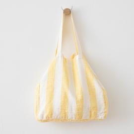 Leinen Strandtasche Philippe Yellow