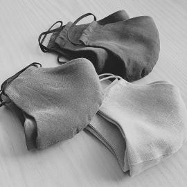 Leinen-Gesichtsmaske
