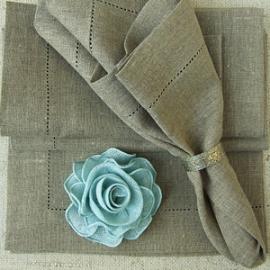 Una Napkins Natural Linen