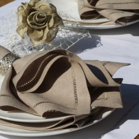Diana Collection Napkins Sand
