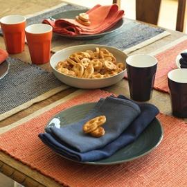 Lara Napkins & Hand Woven Placemats