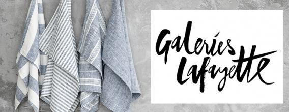 LinenMe jetzt erhältlich bei Galeries Lafayette
